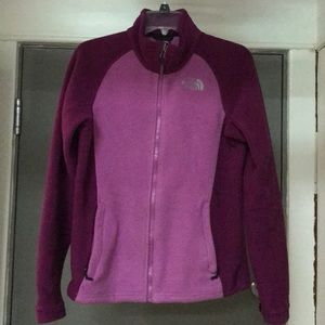Purple North Face Jacket